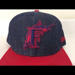 Florida Marlins mlb baseball hat